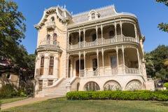 Casa velha no centro de Austin Texas fotos de stock royalty free