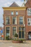 Casa velha no centro de Groningen Imagens de Stock