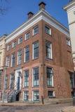 Casa velha no centro de Groningen Fotografia de Stock Royalty Free