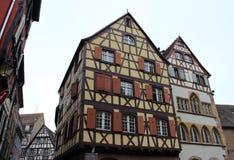 Casa velha no estilo alemão Imagem de Stock