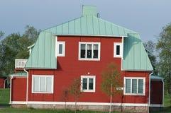 Casa velha no norte Imagens de Stock