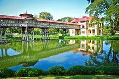 Casa velha tailandesa Imagem de Stock Royalty Free