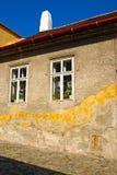 Casa velha, textura da parede Fotos de Stock