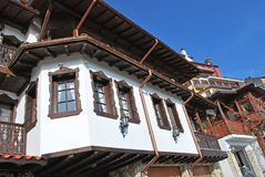 Casa Veliko Turnovo del viejo estilo Fotografía de archivo libre de regalías