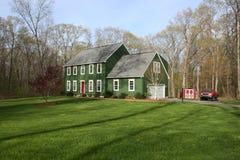 Casa verde Imagem de Stock