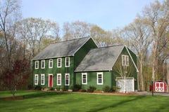 Casa verde 3 Imagens de Stock Royalty Free