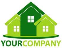 Casa verde Fotografia de Stock