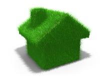 Casa verde Fotos de archivo