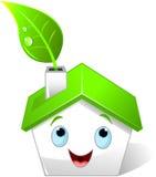 Casa verde Fotos de Stock