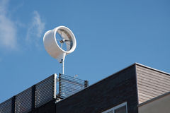 Casa verde da energia Foto de Stock