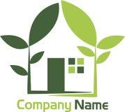 Casa verde da energia Imagens de Stock Royalty Free