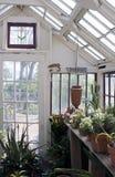 Casa verde da erva foto de stock