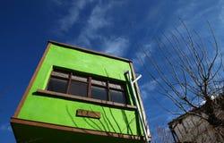 Casa verde Imágenes de archivo libres de regalías
