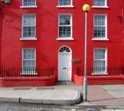 Casa vermelha Imagens de Stock Royalty Free