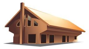 Casa (vetor) Imagem de Stock