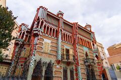 Free Casa Vicens, A House Designed By Antoni Gaudi In Barcelona Royalty Free Stock Photography - 170991257