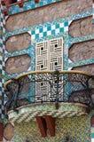 Casa Vicens - Antoni Gaudi. Barcellona, Spagna. Fotografia Stock