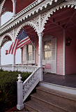 casa victoriana de Cape May fotografía de archivo libre de regalías
