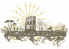Casa vieja libre illustration