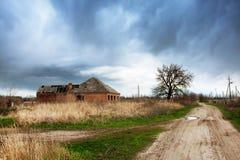 Casa vieja abandonada Fotos de archivo
