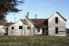 Casa vieja abandonada Foto de archivo libre de regalías
