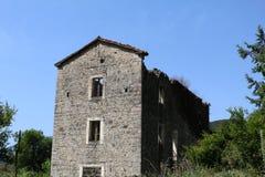 Casa vieja abandonada Fotografía de archivo libre de regalías