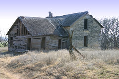 Casa vieja abandonada de la granja Imagen de archivo