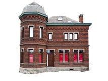 Casa vieja aislada Imagenes de archivo