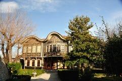 Casa vieja auténtica en plovdiv Foto de archivo