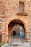 Casa vieja, Collbato, España Imagenes de archivo