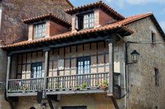 Casa vieja de Cantabria Imagenes de archivo