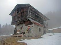 Casa vieja de Dosoledo foto de archivo