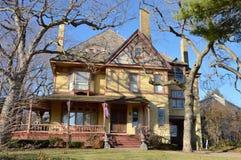 Casa vieja de Evanston Foto de archivo