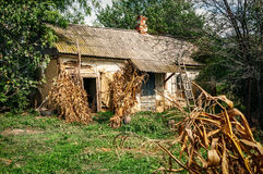 Casa vieja de la aldea Imagen de archivo