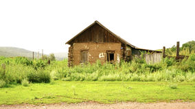 Casa vieja de la aldea Imágenes de archivo libres de regalías
