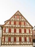 Casa vieja de la ciudad vieja de Tubinga, Alemania Imagenes de archivo