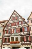 Casa vieja de la ciudad vieja de Tubinga, Alemania Foto de archivo