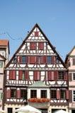 Casa vieja de la ciudad vieja de Tubinga, Alemania Fotos de archivo