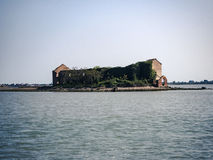 Casa vieja de la isla Foto de archivo