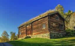 Casa vieja de la madera Foto de archivo