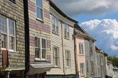 casa vieja de la pizarra Foto de archivo