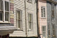 casa vieja de la pizarra Imágenes de archivo libres de regalías