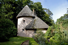 Casa vieja de Mellerstain de la cabaña Imágenes de archivo libres de regalías