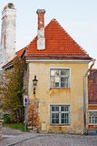 Casa vieja de Tallinn Imagen de archivo libre de regalías