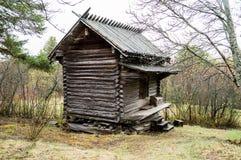 Casa vieja del almacenaje Foto de archivo libre de regalías