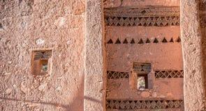 Casa vieja del berber con la decoración tradicional Imagen de archivo libre de regalías