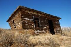 Casa vieja del desierto Foto de archivo