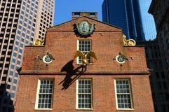 Casa vieja del estado, Boston, mA, los E.E.U.U. imagenes de archivo