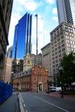 Casa vieja del estado de Boston Foto de archivo libre de regalías