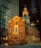 Casa vieja del estado en Boston, los E.E.U.U. Fotografía de archivo libre de regalías